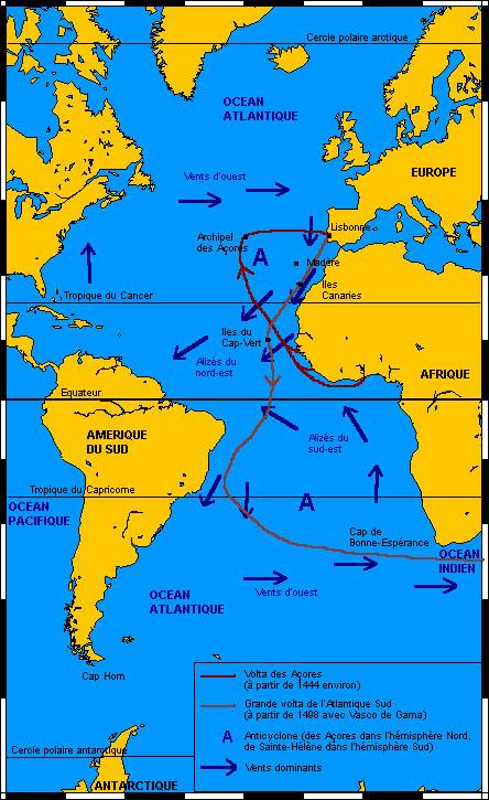 Voyage du voilier La Volta au cap Horn: la volta